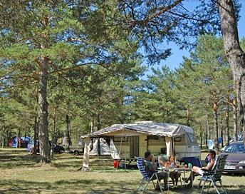Camping La Farigoulette, Saint-Laurent-du-Verdon
