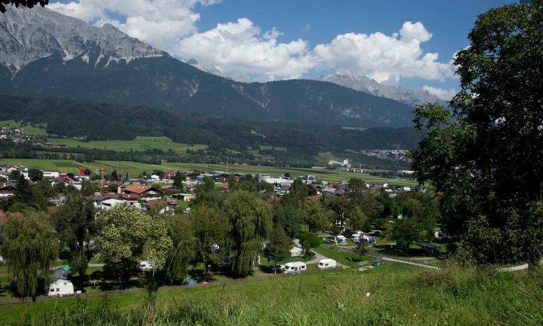 Schloss Camping Aschach, Volders