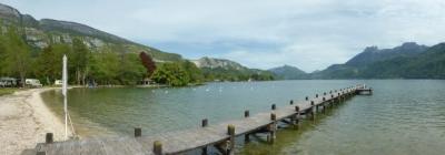 Camping Le Lac Bleu, Doussard