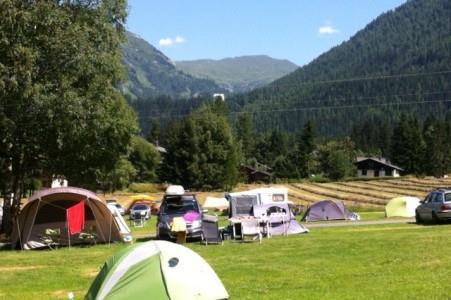 Camping Le Glacier D'Argentières, Chamonix Mont Blanc